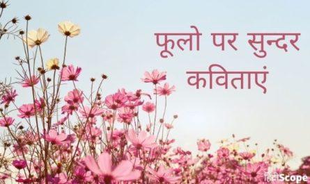 Hindi Poem On Flower